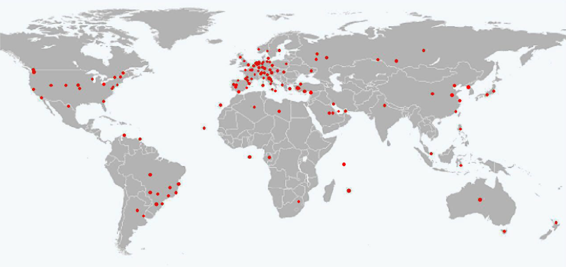 ClubSite Visitors WorldWide