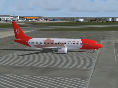 Aircraft Air Canada