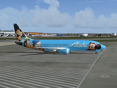 Aircraft Alaska Disney