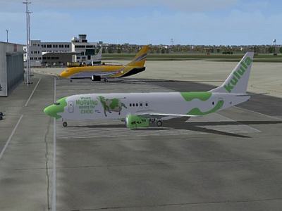 Aircraft Kalula Choc