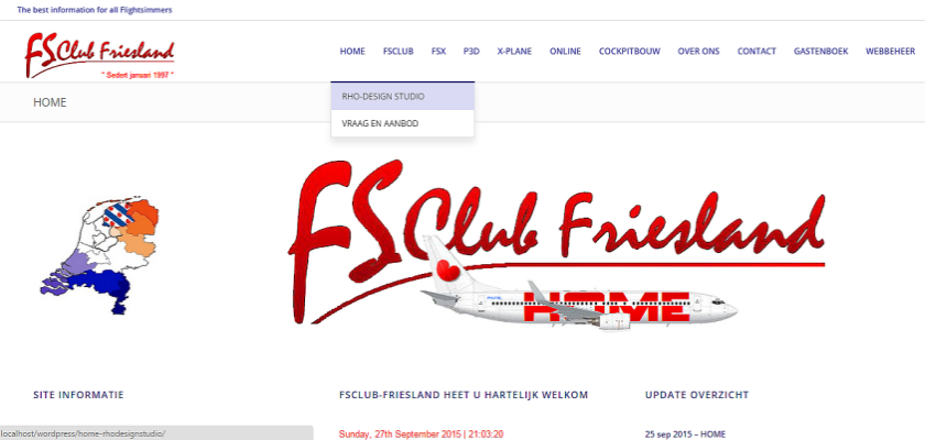 FSClub WEBSITE