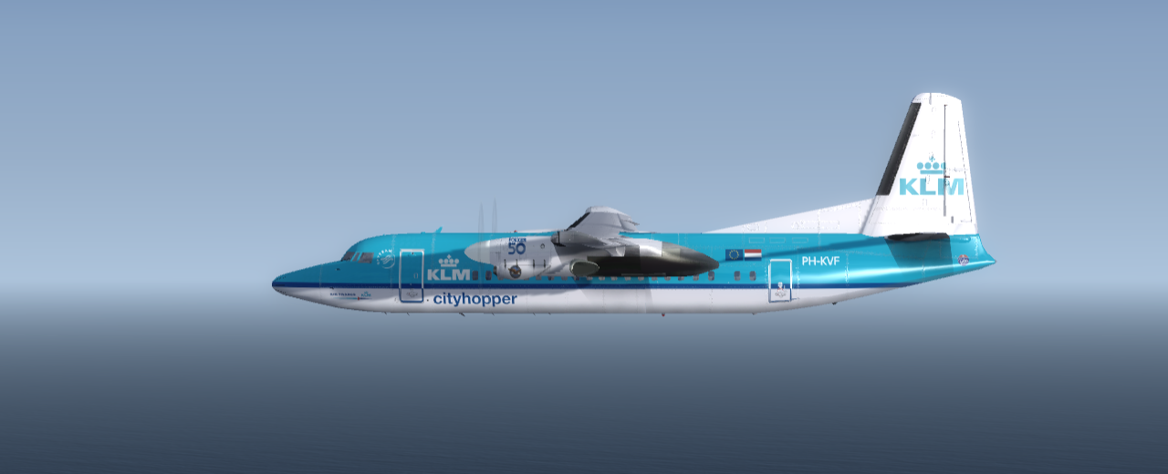 IMG DACNEW FOKKER F-50 KLM