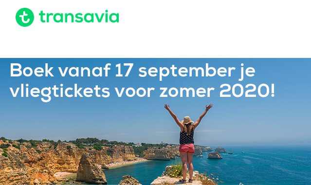 IMG Transavia Booking 2020
